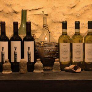 etrusco Vernaccia e Ombra rosso biologico Vena di Vino